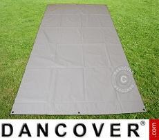 Ground cover 2.6x3.1 m PVC Grey