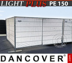 Fence tarpaulin 1.8x3.4 m PE 150 g/m² White