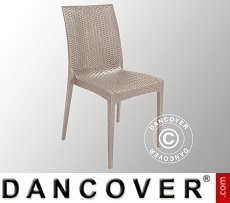 Chair, Rattan Bistrot, Jute, 6 pcs.
