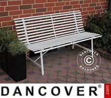 Garden bench, Ivory
