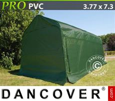Portable Garage PRO 3.77x7.3x3.24 m PVC, Green