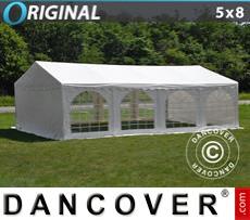 Marquee Original 5x8 m PVC, White