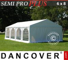 Marquee SEMI PRO Plus 6x8 m PVC, White