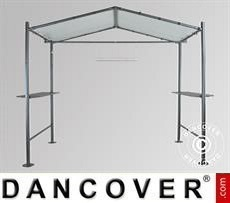 Gazebo, Milano Grill, 2,65x1,59m, Dark Grey