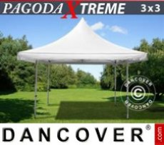 Marquee Pagoda Xtreme 3x3 m / (4x4 m) White