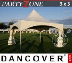 Marquee PartyZone 3x3 m PVC