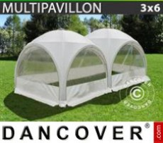 Marquee 3x6 m, White
