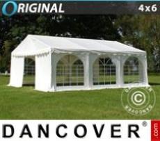 Marquee Original 4x6 m PVC, White