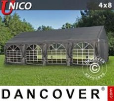 Marquee UNICO 4x8 m, Dark Grey