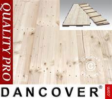Flooring 150x50x2,2cm, Pine, 18m²