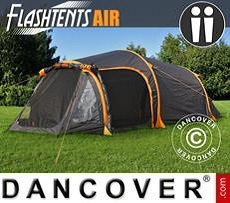 Camping FlashTents® Air, 2 persons, Orange/Dark Grey