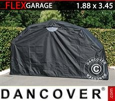 Car Cover Folding garage (MC), 1.88x3.45x1.9 m, Black