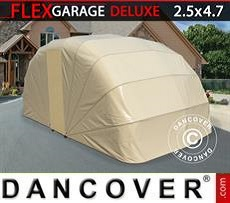 Car Cover Folding garage (Car), 2.5x4.7x2 m, Beige