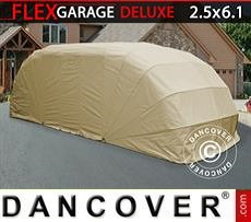 Car Cover Folding garage (Car), ECO, 2.5x6.1x2 m, Beige