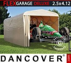 Car Cover Folding tunnel garage (Car), ECO, 2.5x4.12x2.15m, Beige