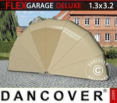 Car Cover Folding garage (MC), 1.3x3.2x1.6 m, Beige