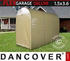 Car Cover Folding tunnel garage (MC), 1.5x3.6x2.05 m, Beige
