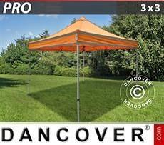 Flexshelter Work Tents Pop up gazebo FleXtents PRO Work tent 3x3 m Orange Reflective