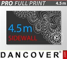 Logo Print Branding Printed sidewall 4.5 m for FleXtents PRO