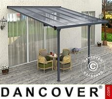 Patio cover Malibu, 3.05x3.14m, Dark Grey