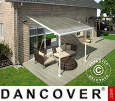 Patio Cover Feria 3x3.05 m, White