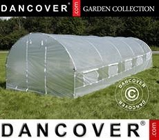 Polytunnel Greenhouse 4x8x2 m, Transparent
