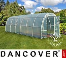 Polytunnel Greenhouse 2,2x6x1,9 m, Transparent