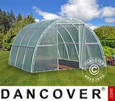 Polytunnel Greenhouse 3x3,6x1,9 m, Transparent