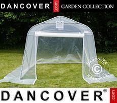 Polytunnel greenhouse, 2,4x6x2,4m, PE, Transparent