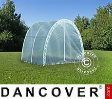 Polytunnel Greenhouse 2,2x2x1,9 m, Transparent