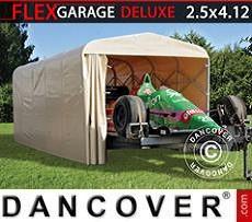 Portable Garage Folding tunnel garage (Car), ECO, 2.5x4.12x2.15m, Beige