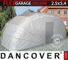 Portable Garage Folding garage (Car), 2.5x5.4x2 m, Grey