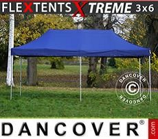 Racing tents Pop up gazebo FleXtents Xtreme 3x6 m Dark blue