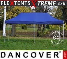 Racing tents Pop up gazebo FleXtents Xtreme 3x6 m Dark blue