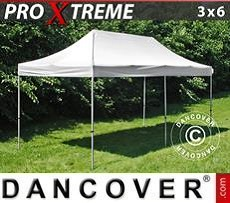 Racing tents Pop up gazebo FleXtents Xtreme 3x6 m White