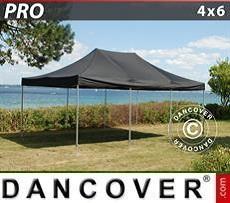 Racing tents Pop up gazebo FleXtents PRO 4x6 m Black