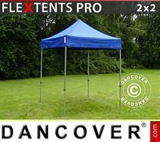 Racing tents Pop up gazebo FleXtents PRO 2x2 m Blue