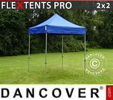 Racing tents Pop up gazebo FleXtents PRO 2x2 m Blue
