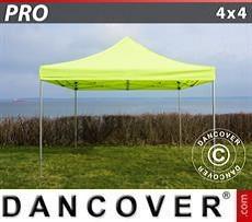 Racing tents Pop up gazebo FleXtents PRO 4x4 m Neon yellow/green