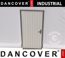 Storage buildings Metal door for Industrial Storage Hall, 0,9x2 m, White