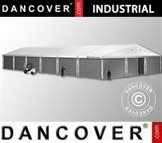 Storage buildings Industrial Storage Hall 15x30x6,53 m w/sliding gate, PVC/Metal, White