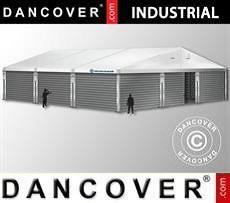 Storage buildings Industrial Storage Hall 12x12x5,42 m w/sliding gate, PVC/Metal, White