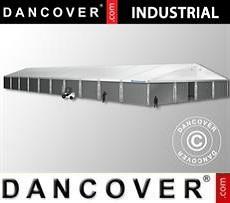Storage buildings Industrial Storage Hall 20x50x9,04 m w/sliding gate, PVC/Metal, White
