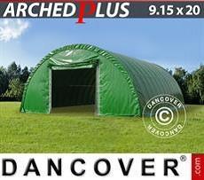 Storage tent 9.15x20x4.5 m PVC, Green