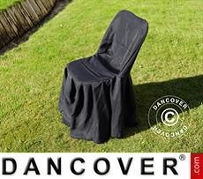Chair cover for 48x43x89 cm chair, Black