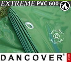 Tarpaulin Tarpaulin 8x10 m PVC 600 g/m² Green, Flame retardant