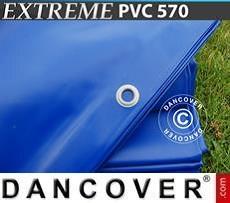 Tarpaulin 5x6 m PVC 570 g/m² Blue