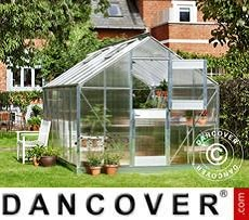 Greenhouse Polycarbonate Juliana Junior 12.1 m², 2.77x4.41x2.57 m, Aluminium