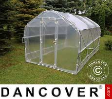Polytunnel Greenhouse SEMI PRO Plus 4x10x2.40 m