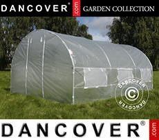 Polytunnel Greenhouse 4x4x2 m, 16 m², Transparent